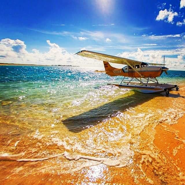 volo in aereo in idrovolante