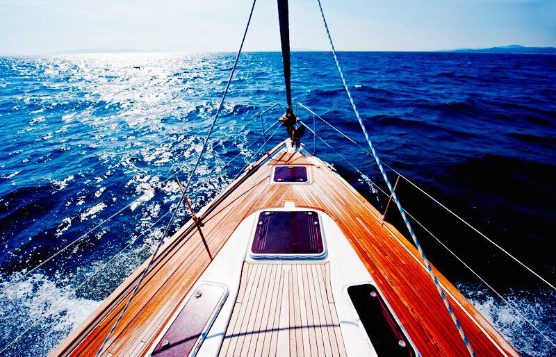 barca vela escursioni Lago di Como